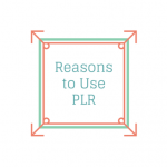 Reasons to Use PLR