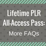 Lifetime Pass Membership: Frequently Asked Questions