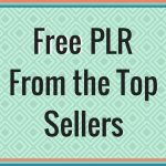 Lots of Free PLR to Download