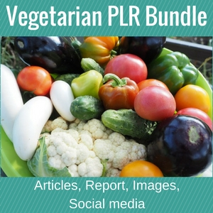 Vegetarian PLR Bundle