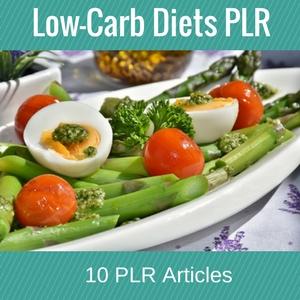 Low-Carb Diets PLR