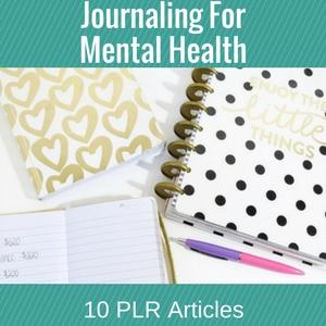 Journal For Mental Health